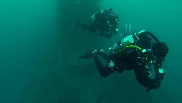 wellington tech diving nz