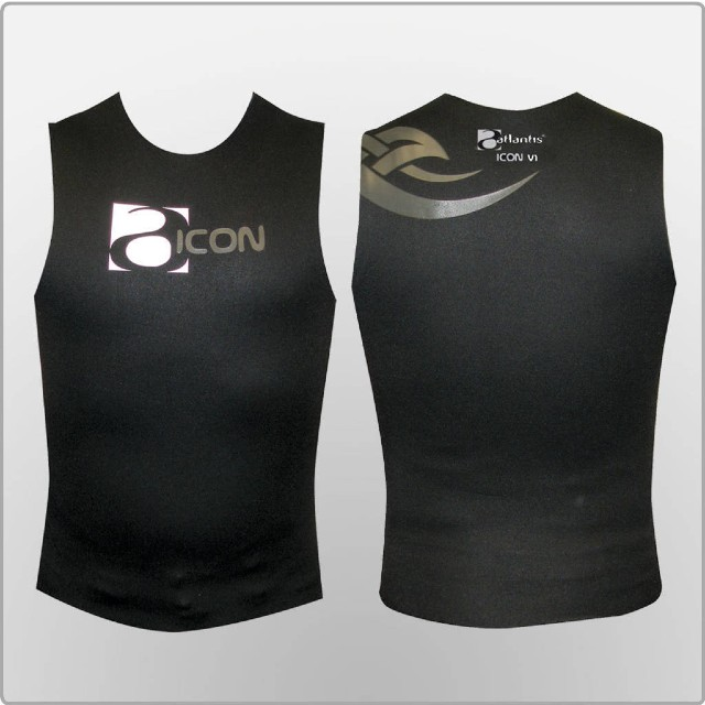 Atlantis Icon Neoprene Vest. Wetsuits wellington NZ Sea Adventures SCUBA Diving, Wellington