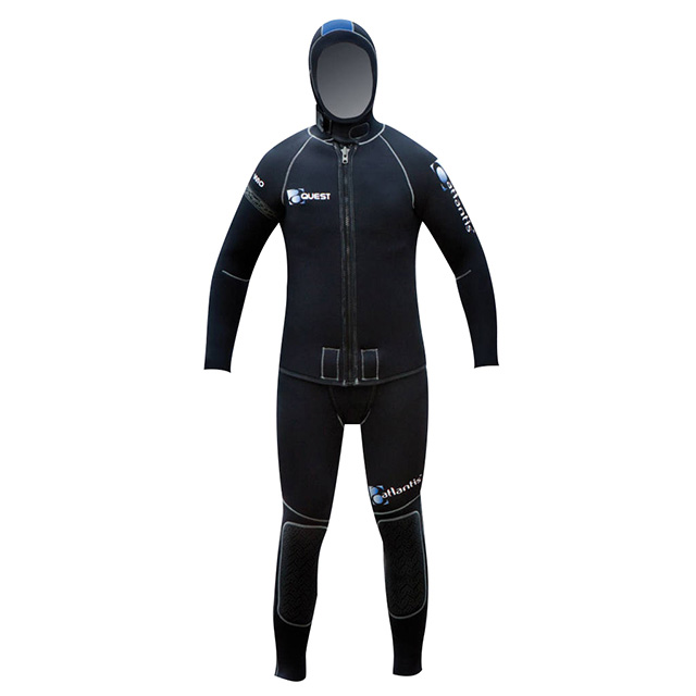 Atlantis Legacy W10 2 Piece wetsuit- Wellington Scuba Store dive gear diving equipment Wellington PADIi dive courses Wellington TDI courses KISS Rebreathers