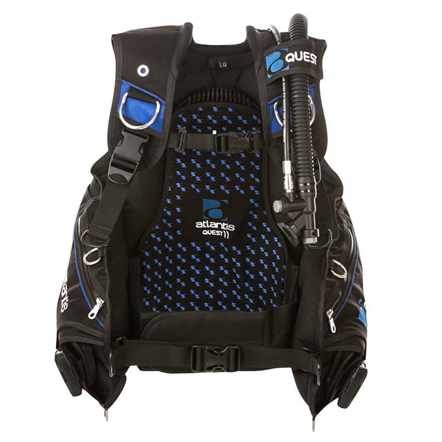 Atlantis Quest weight integrated BCD11 Wellington Store scuba dive gear diving equipment PADI TDI courses Rebreathers