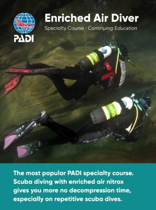 Enriched Air Diver Specialty Wellington SCUBA Diving NZ