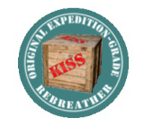 KISS Expedition mCCR Rebreather