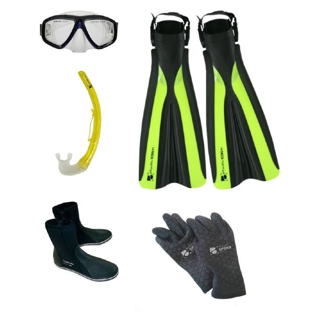 Wellington Beginners Dive Gear Package scuba diving equipment
