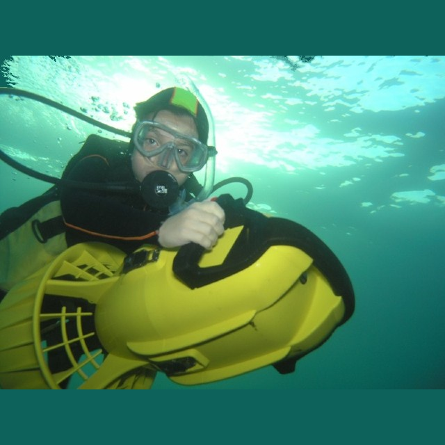 Wellington DPV SPecialty diver propulsion vehichle diving scooter padi specialty course