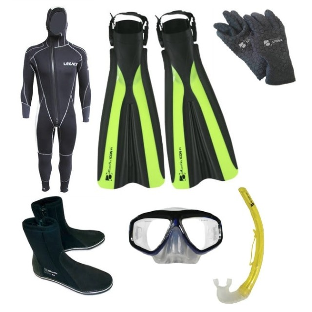 Wellington Diving and Snorkelling Package NZ Dive Gear