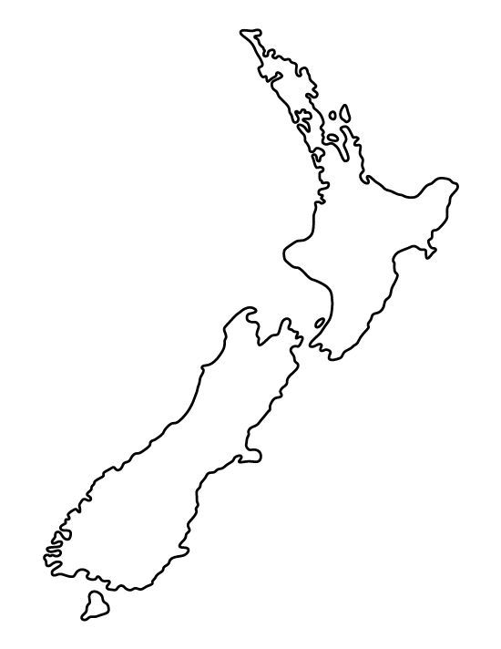 Wellington New Zealand scuba diving Map