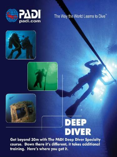 Wellington PADI Deep Diver Specialty NZ