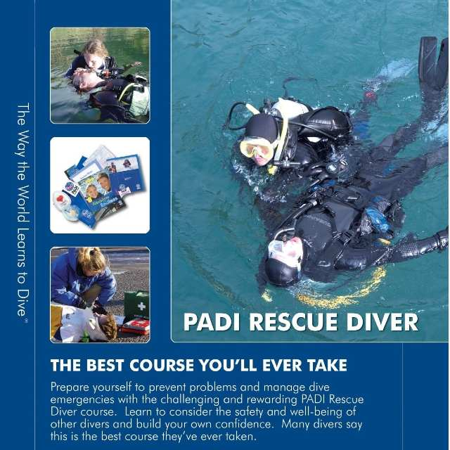 Wellington porirua fun rescue diver scuba course