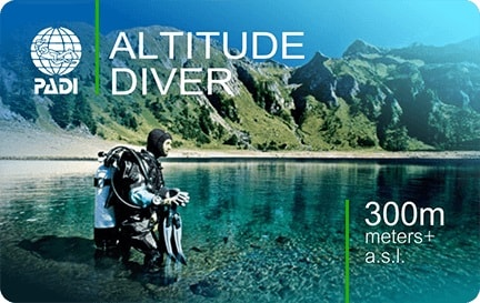 Wellington scuba dive course altitude-min