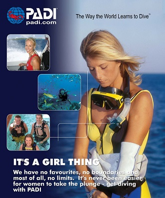 wellington scuba divers its a girl thing